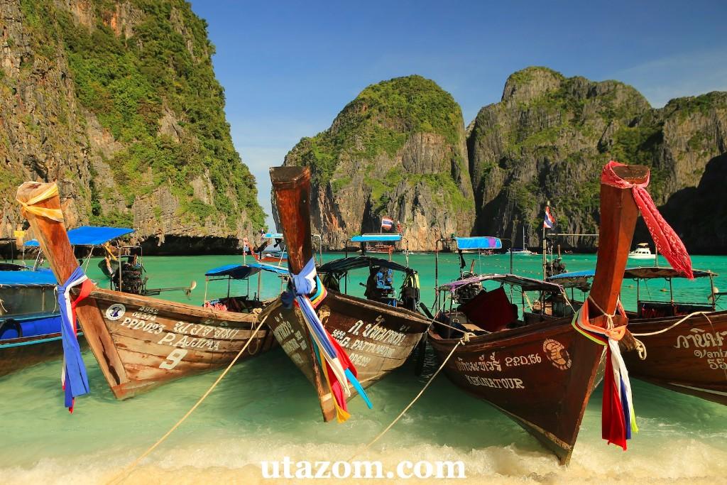 b9fc216b6420 Ha kevesebb turistára vágyunk, keressük fel Thaiföld távolabbi szigeteit,  Ko Lanta, Ko Kut vagy épp Ko Lipe szigetét. Ao Nang környékén pedig jó  választás ...