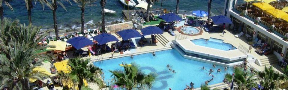 Máltai nyaralás: Qawra Palace Hotel ****