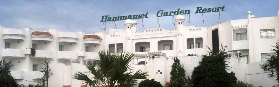 Tunéziai nyaralás: Hotel Hammamet Garden ****