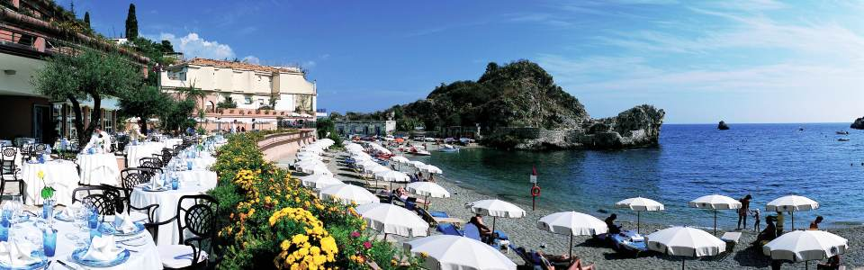 Luxus nyaralás Szicílián: Grand Hotel Mazzaro Sea Palace*****