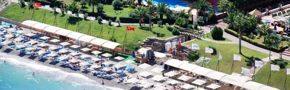 Nyaralás Kemer: Hotel Valeri Beach ***