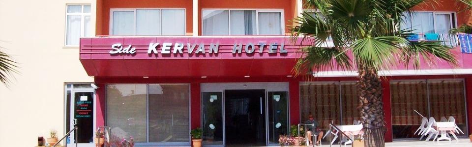Nyaralás Side: Hotel Kervan ***
