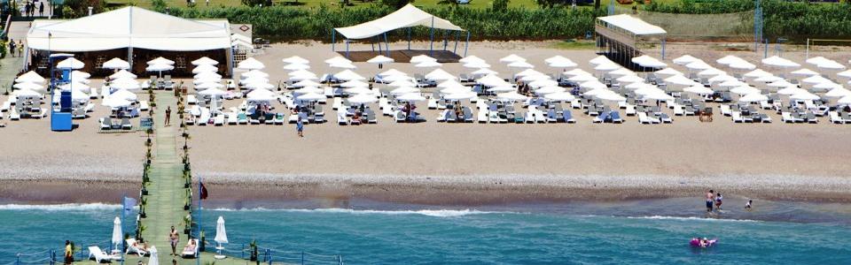 Nyaralás Törökországban: Hotel Silence Beach Resort *****