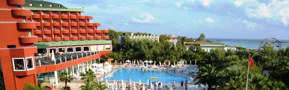 Tengerparti nyaralás Alanya: Hotel Delphin Deluxe Resort *****