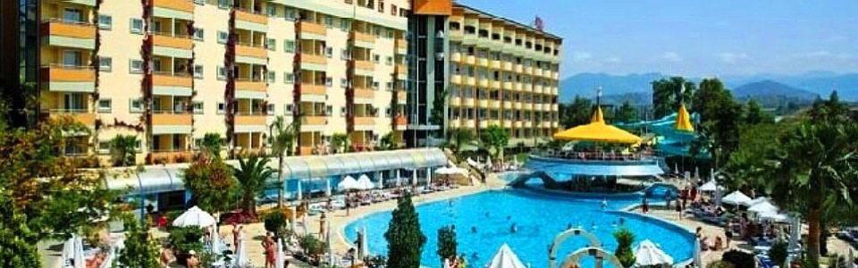 Törökországi nyaralás: Hotel Saphir **** Alanya