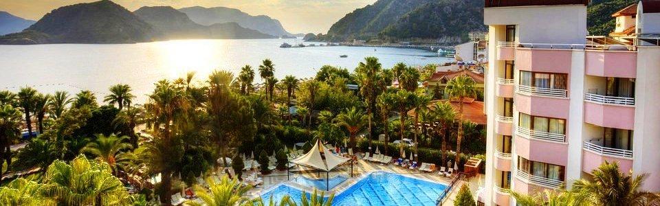 Nyaralás Marmaris: Hotel Aqua *****