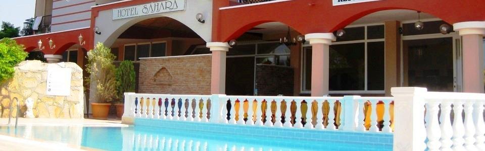 Nyaralás Török Riviéra: Hotel Sahara **+ Side