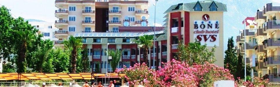 Utazás Törökországba: Hotel Bone Club SVS **** Alanya