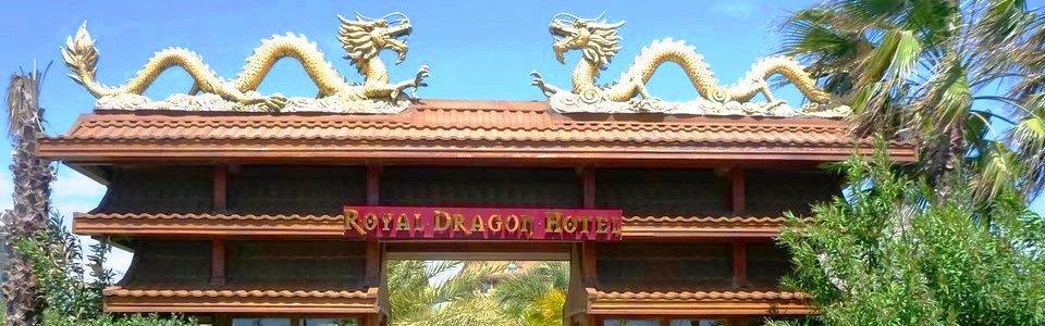 Luxus All Inclusive Török Riviéra: Hotel Royal Dragon ***** Side