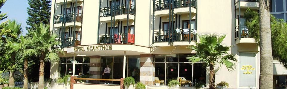 Török Tengerparti Utazás: Hotel Barut Acanthus **** Side