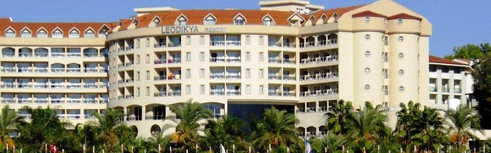 Nyaralás Törökországi Tengerparton: Hotel Kirman Leodikya Resort ***** Alanya