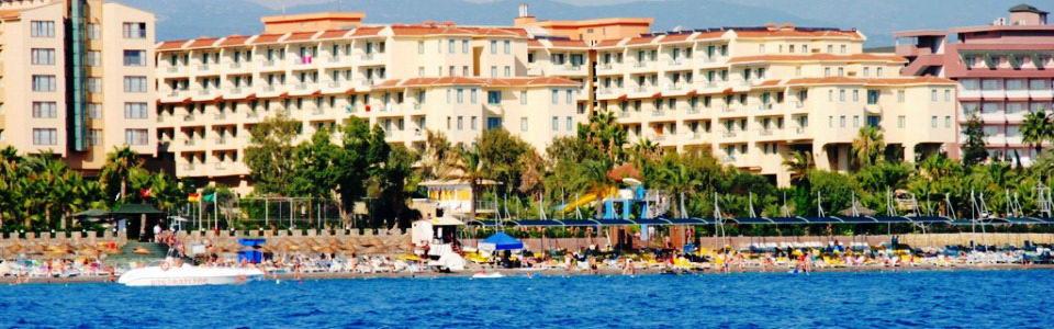 Utazás Törökországi Tengerpartra: Hotel Kirman Club Sidera ***** Alanya