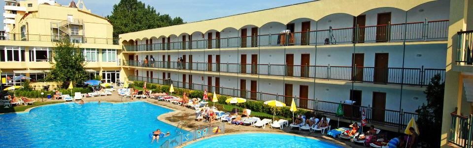 Utazás Bulgáriába: Hotel Amfora Beach *** Napospart