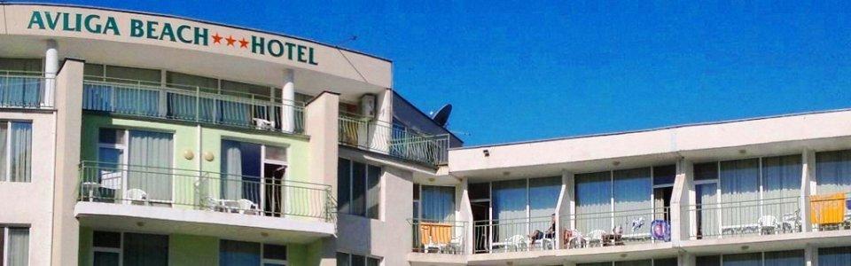 Nyaralás Bulgária Tengerpartján: Hotel Avliga Beach *** Napospart
