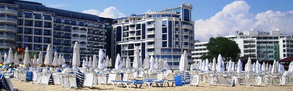 Utazás Bolgár Tengerpartra: Hotel Chaika Beach **** Napospart