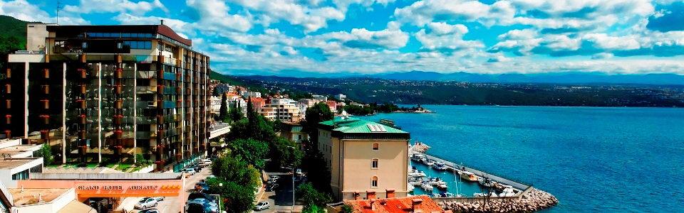 Szállásfoglalás Horvátországban Grand Hotel Adriatic **** Opatija