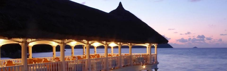 Seychelle-szigetek: Hotel La Reserve **** Praslin