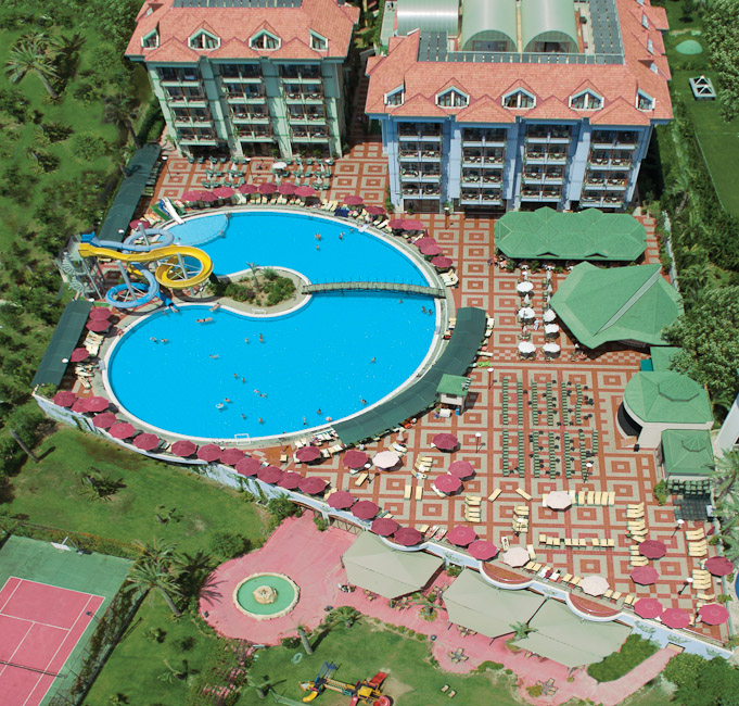Hotel sentido turan prince residence side for Sentido turan prince side