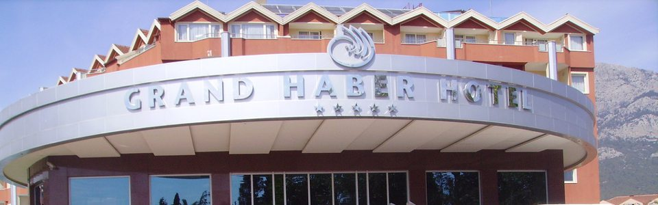 Nyaralás Antalya: Grand Haber Hotel*****