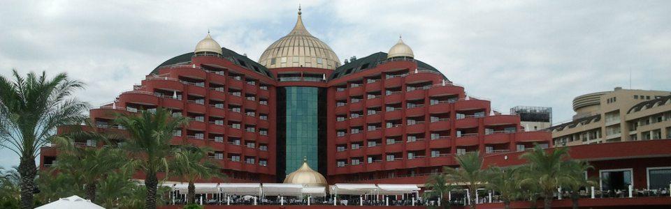 Törökországi nyaralás: Hotel Delphin Palace ***** Lara