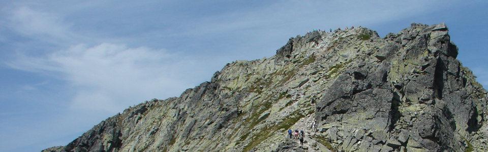 Magas-Tátra gyalogtúra: Kapor csúcs 2367 méter