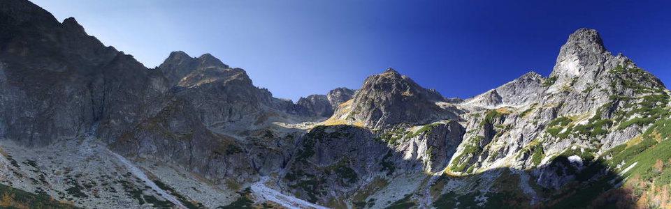 Magas-Tátra gyalogtúra: Fehér-tavi-csúcs 2229 méter