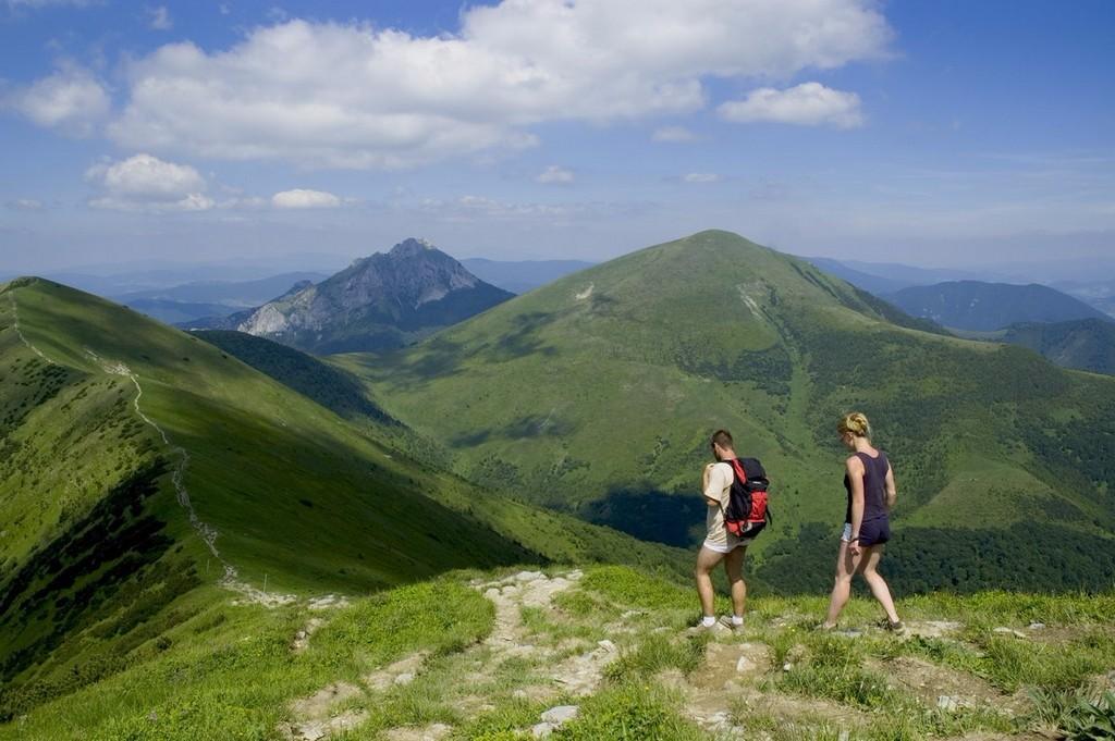 A Vág folyó által kettéosztott Kis-Fátra népszerűségét tekintve Szlovákia második legnépszerűbb, egyben a legnyugatabbra fekvő magashegysége. Gyephavas jellegű, virágokkal borított látványos, meredek hegyoldalak, füves csúcsok, kellemes gerinctúrák a csak ritkán elkeskenyedő főgerincen, hangulatos menedékházak várnak az erre járókra. Ezen a túrán a hegység legmagasabb csúcsa, a Nagy-Kriván mellett bejárjuk a Kis-Fátra méltán népszerű főgerincének legszebb szakaszát is.