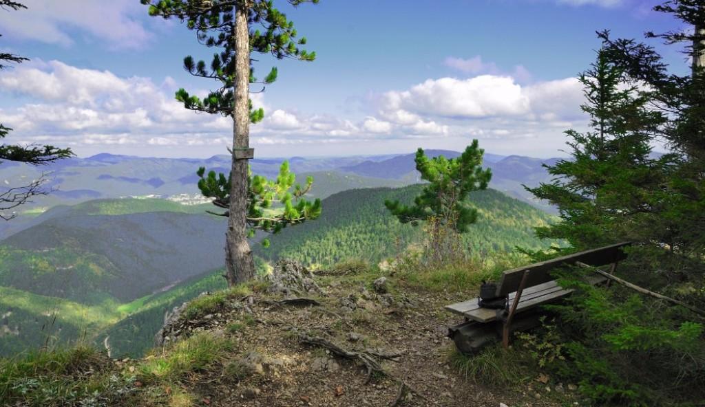 A Schneeberg lábánál elterülő csodálatos környezete lágy vonulatokkal, virágos alpesi rétekkel, árnyat adó hatalmas fenyvesekkel várja túrázókat. A Dürre Wand-i Alpok fantasztikus környezete ideális helyszíne a kikapcsolódásnak egy nagyszerű túra keretében, menedékházzal, vízeséssel színezve. Nagyszerű kikapcsolódás azoknak akik szeretnék megismerni a közeli Alpok változatos területeit.