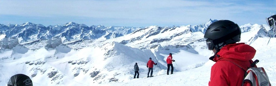 Sípálya Ausztriában: Mölltal gleccser