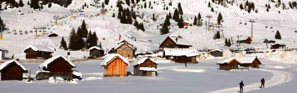 Sípálya Olaszországban: Tre Valli