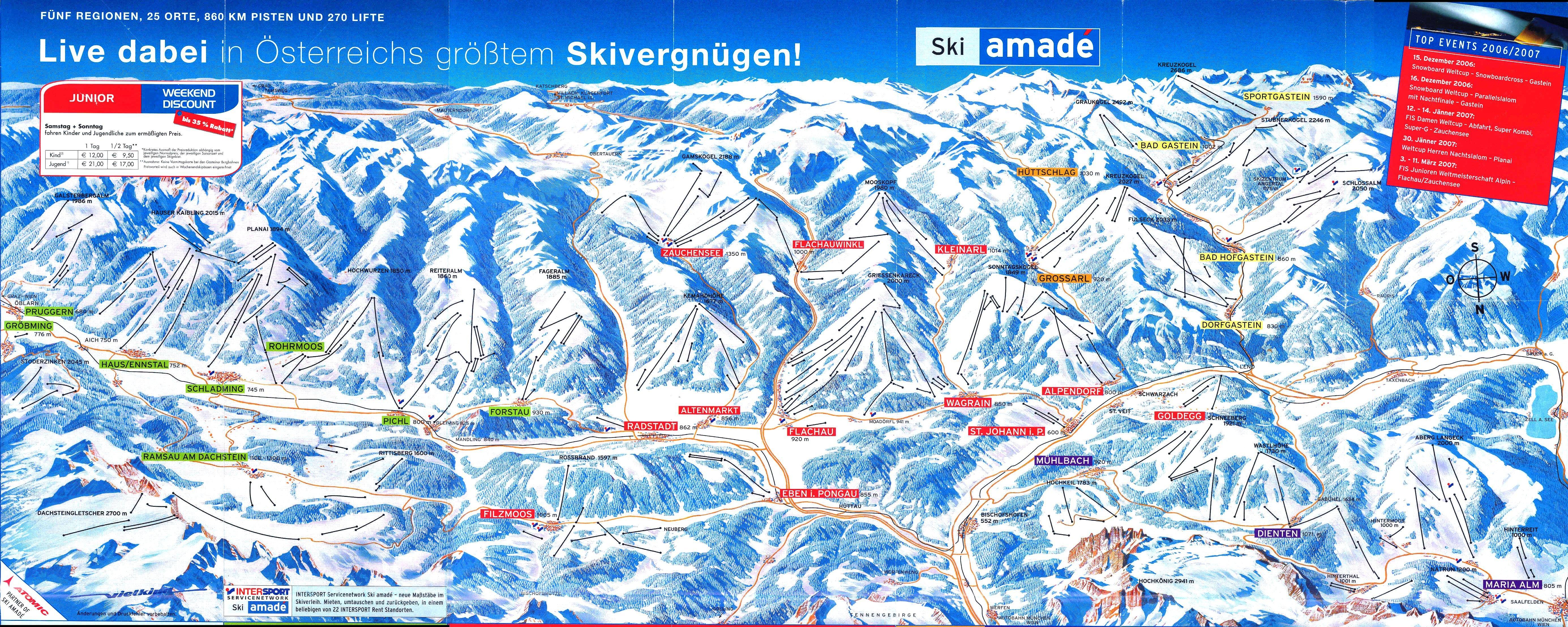 ausztria sírégiók térkép Síelés Ausztriában | Sí Ausztria Síút Auszrtiai Szilveszter  ausztria sírégiók térkép