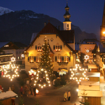 Advent Salzkammergut vidékén