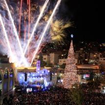 Karácsony Betlehemben