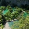 A gyönyörű Plitvicei-tavak képekben