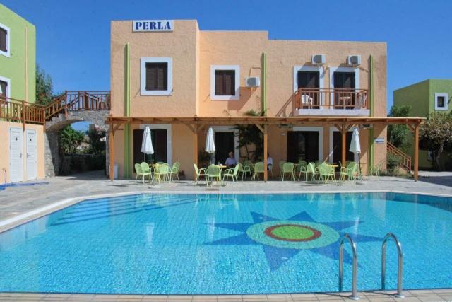 Perla Apartmanház - Kréta, Agia Pelagia