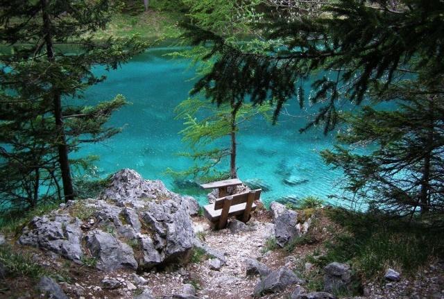 Alpesi kirándulás Ausztriában, Grünsee