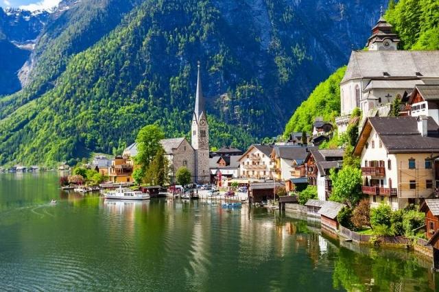 Az Alpok gyöngyszeme Salzkammergut