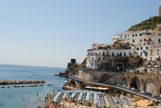 A Vezúvtól az Amalfi partokig - autóbusszal