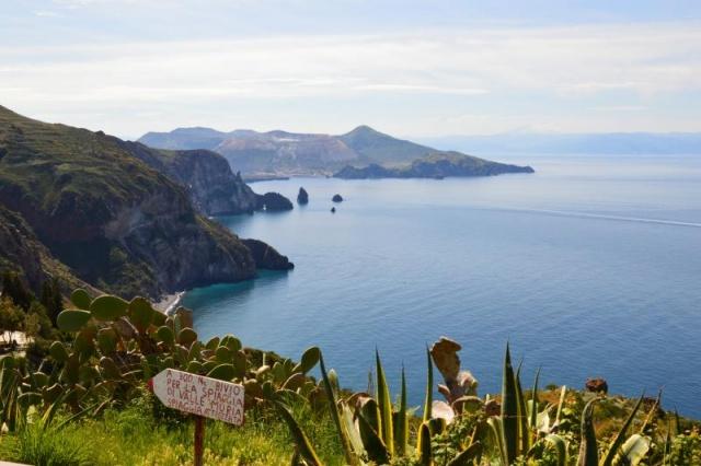 Tűz Isten gyermekei - Lipari szigetek