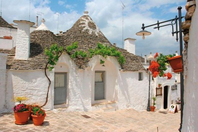 Az olasz csizma sarka...Puglia