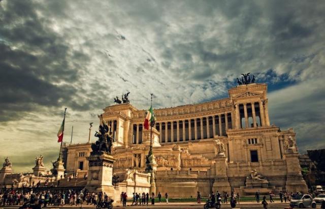 Róma - repülővel