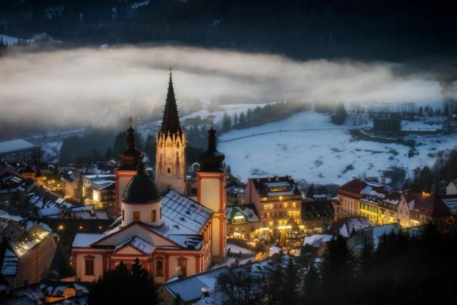 Meghitt karácsony Alsó-Ausztriában és Mariazellben