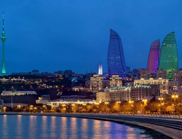 """Baku, a """"kaszpi Dubai"""" Azerbajdzsán legszebb tájai"""