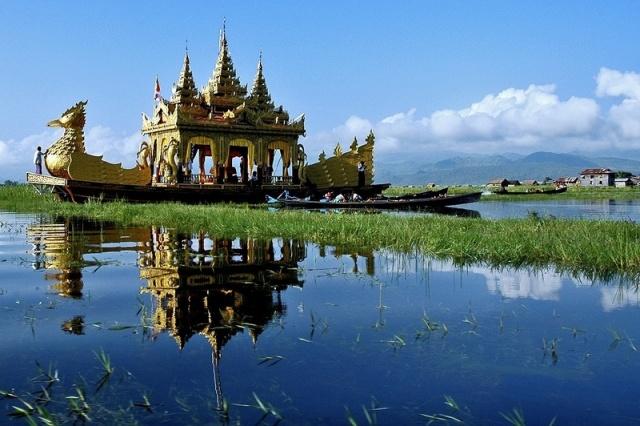 Burma - Laosz - Kambodzsa - Vietnám