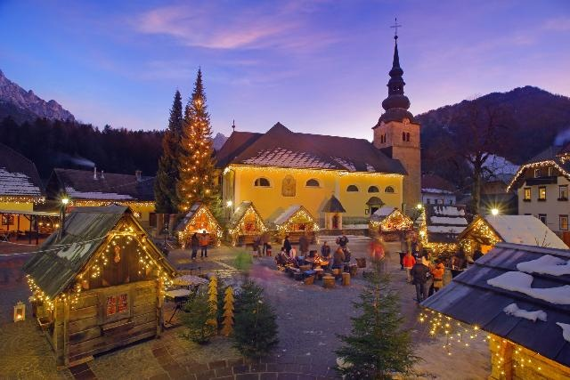 Karácsonyi tündérmese Szlovéniában