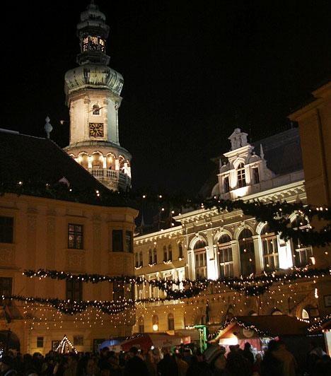 Advent az Alpokalján: Sopron és Kőszeg