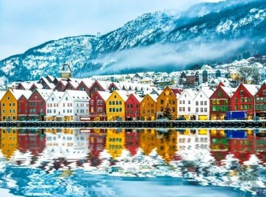 Bergen és a norvég fjordok 2022.02.04-08.