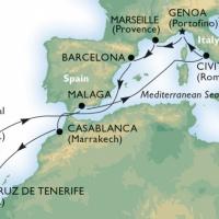 MSC ORCHESTRA - Húsvétkor a Földközi-tengertől az Atlanti-óceánig
