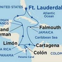 Panama-csatorna és a Karib-tenger kincsei Repülős hajóút Magyar idegenvezetővel! Island Princess