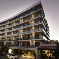Hotel Manousos *** Rodosz város